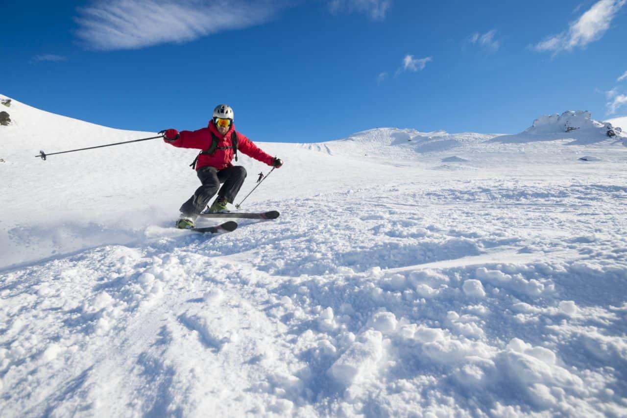 New Zealand skiing